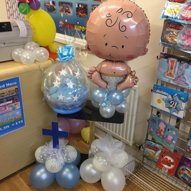 Balloon Party Packages - Christening Balloons - Birthday Balloons - Party and Balloon Shop Golborne