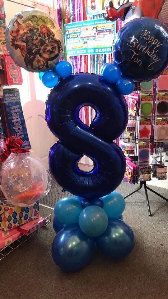 bespoke balloons - birthday balloons for kids